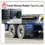 Hydraulic container load solid tyre for truck trailer used in stations docks tire 1000-20