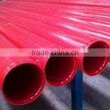 ASTM A795 galvanized grooved painted steel pipe for fire protection from tianjin Top manufacturer