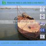 90cbm self-propelled sand floating barges/boats