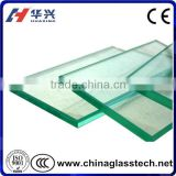 CE certificate flat 16mm tempered glass production line
