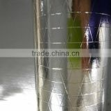 aluminum foil scrim faced heat insulation facing