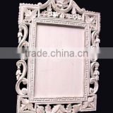 Carved wooden mirror frame,Hand carved wood antique mirror frame,Hand carved decoration wood mirror frame,Hand made mirror fram