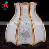 Manufacturers selling Europe type restoring ancient ways all copper glass lamp shade/bedroom european-style lamp/personality all