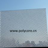 fire-retardant  waterproof light transmission honeycomb floor panel