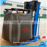 500kg Hongxiang Brand big bulk bag for scrap with top cover,construction waste container,fibc bulk bags