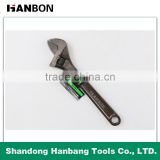 Black Nickel-plated Adjustable Wrench