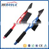 Durable plastic long handle snow brush for car