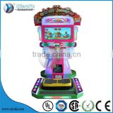 Commercial cool video simulator sports candy jumper racing gift coin operated simulation motion sensing game machine