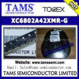 TOREX - XC6802A42XMR-G - 800mA Single Cell Li-ion Battery Linear Charger IC