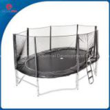 CreateFun 10FTx15FT Hot Sale Kids Oval Jumping Cheap Big Bed Trampoline With Safety Net For Sale