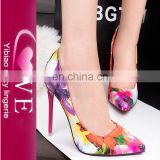 best selling full size Autumn ladies footwear fetish women fashion high heel shoes