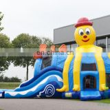 HI professional manufacturer octopus long water slide china, nimo big water slide with pool