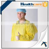 Alcohol free/alcohol repellent disposable nonwoven useful preventing CPE gowns used in hospitals for medical and surgical use