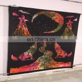 Wholesale 100% Cotton Hippie Psychedelic Sun and Moon Tapestry
