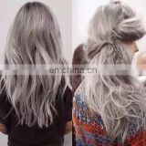 7A!2016 new style QingdaoYotchoi brazilian hair weave wholesale price gray 100% human hair brazilian