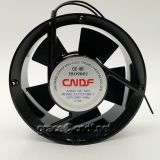 CNDF  made in china manufacturer passed CE ventialtion flow fan circular type 172x51mm cooling fan
