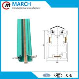 3 Poles box busbar for crane, hoist conductor busbar
