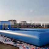 inflatable table football pitch inflatable water soccer field inflatale soap football field