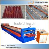 aluminum corrugated metal roofing sheet cold making line/Building Materials Full Hard 550 Tiles Cold Forming Machine