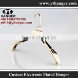 IMY-376 rose gold electroplating clothes store hanger for bulk