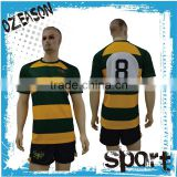 Custom sublimation printing all blacks rugby jersey fiji rugby jersey