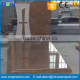 High Quality European Style Granite Frame Tombstone
