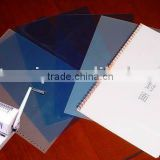 Plastic binding cover (PVC,PET)