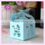 Various colours wedding decorations candy box favor baby shower favor box /Birthday guest gifts box form China producer