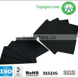 180gsm side black paper, black core side board