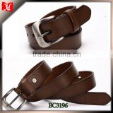 china manufacturer custom cow leather mens belts