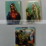 Ceramic religious characters with magnet on back side(souvenir,tourist,home decoration,arts & crafts)