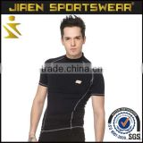 Fast Delivery Custom compression shirt printing Men compression shirt design for Running