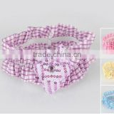 Scrunchie.hot selling hair ornaments hair accessories lovely style for kids