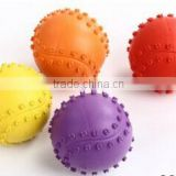 2015 6.3 cm Rubber Dog & Dog Tennis Ball- logo printing