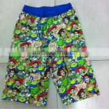 Carton Boy screen print cotton Shorts/Knitted shorts sublimated/mens printed shorts/boys colored shorts/custom printed short