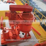 oilfield valve solids control vacuum degasser oilfield pumps