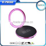 New round shape cosmetic mirror power bank 4000mAh                                                                                                         Supplier's Choice