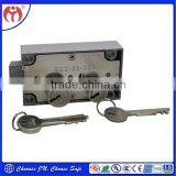 Security Safe Double Deposit Box Key Lock Home 6458