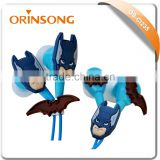 batman earphones cartoon mobile phone earphone