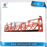 ZLP630 Building Facade Construction electric suspended platform window cleaning gondola