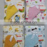 Baby Blanket and Animal Shape Pillow/Baby Towel Blanket