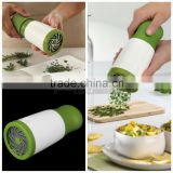 1pcs new herb grinder Spice Mill Parsley Shredder Chopper Fruit Vegetable Cutter cooking kitchen tools