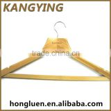 Chinese Producers Eco Friendly Adjustable Bamboo Hanger