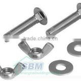 Nut Bolt Manufacturing Process (various types, common sizes and grades, accept special requirements)
