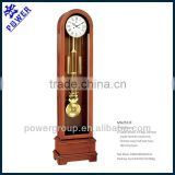 Hot sell grandfather clock White clock face and solid wood German made Hermle movement Competitive price MG2511F