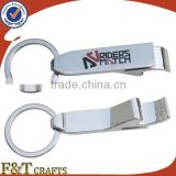 new year gift set bottle opener keyring with custom printed logo for men