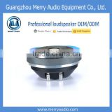 Hi-Fi 60W 44mm voice coil 108.5dB line array speaker driver unit for outdoor activities