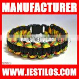 wholesale metal charms for football team paracord bracelets