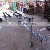 galvanized jet ski and ski boat trailers