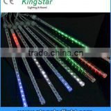 China Factory Programmable LED Raindrop 3D Beam Meteor Tube Outdoor Decorative Christmas Disco Party Club Lighting with Cable